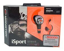 Monster iSport Strive In-Ear Headphones w/ Control Talk Apple - Orange