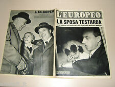 EUROPEO=1954/19=DAWN ADDAMS=SCORANO=FEDERICO TESIO=FILM LA STRADA FELLINI F.=
