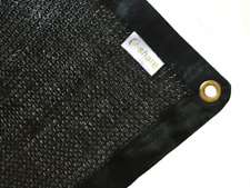 Outdoor Black Shade Cloth, Shade Anywhere! Keeps Leaves Out Of Your Pool 10 x 20