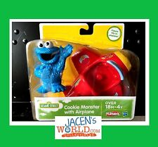 Cookie Monster Sesame Street Plane Action and Figure Toy Airplane Playskool