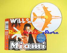 CD Singolo WILL SMITH Miami 1998 COLUMBIA 666678 2 no lp mc dvd (S12)