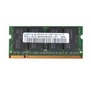 Samsung 4GB 2Rx8 PC2-6400S DDR2 800Mhz 200Pin 1.8V RAM Memory Laptop SO-DIMM #D#
