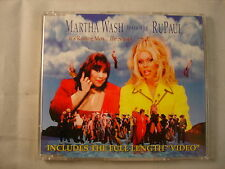 CD Single (B12) - Martha Wash Rupaul - It's raining men - 74321 55541 2