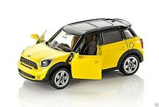 SIKU 1454 MINI Cooper Countryman Yellow w Black Roof & 5 Spoke Wheels NEW 2013
