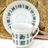 Vintage Royal Doulton England Tapestry Tea Cup & Saucer Set Crafted In England
