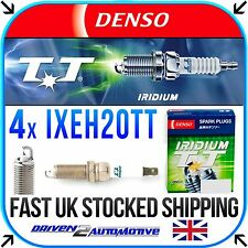 4x DENSO IXEH20TT IRIDIUM TT PLUGS FOR TOYOTA RAV 4 IV 2.0 VVT-i 4WD 04.15-