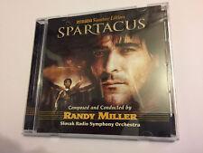 SPARTACUS (Randy Miller) OOP 2005 Intrada Ltd Score OST Soundtrack CD EX