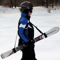 Adjustable Ski Carrier Shoulder Carry Strap Belt Clip Sling For Skiboard Hanger