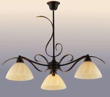 Artículos de iluminación de techo de interior de color principal oro cristal 1-3 luces