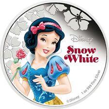 Niue - 2 Dollar 2015 - Schneewittchen - Disney Prinzessinnen (6.) 1 Oz Silber PP