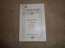 Fisher Scientific Company Laboratory Magazine Vol. II No. 5 Instruments