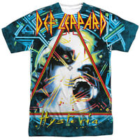 Def Leppard HYSTERIA 1-Sided Sublimated Big Print Poly T-Shirt
