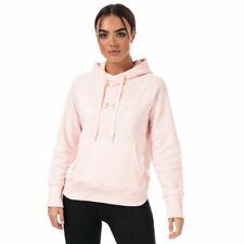 Para Mujer Under Armour Rival Metálico Loose Fit con capucha Sudadera Polar en Rosa