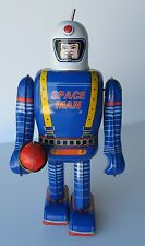 SPACE MAN ROBOT - TIN TOY MINT IN BOX -