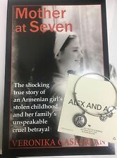 "ALEX AND ANI ""SAINT ANTHONY"" NWT AND AN INSPIRATIONAL BOOK ""MOTHER AT SEVEN"""