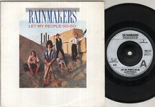 "RAINMAKERS Let My People Go Go  7"" Ps, B/W Nobody Knows, Mer 238"