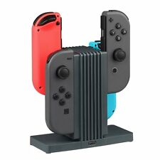 for Nintendo Switch Joy-Con Charging Dock Station Stand with Type C Cable