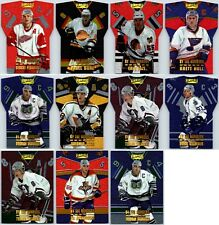 1996-97 PINNACLE BY THE NUMBERS INSERT CARDS - PICK YOUR SINGLES - FINISH SET