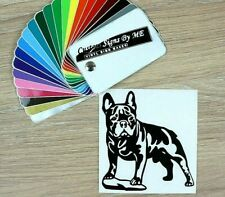 French Bulldog Car Sticker Vinyl Decal Adhesive Window Bumper Tailgate Laptop #3