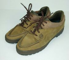 Timberland Women's Size 7 Shoes Brown Leather 30304 Lace Up Low Top Hiking Camp