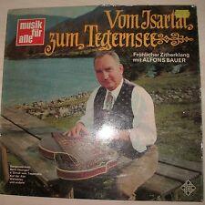 ALFONS BAUER - Vom Isartal Zum Tegernsee (Vinyl Album)