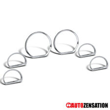 For [6 pcs] 94-04 Ford Mustang Chrome Dashboard Cluster Gauge Trims Rim Bezel
