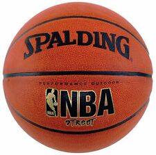 "Spalding NBA Street Basketball Official Size 7 29.5"" Outdoor Durable Rubber, New"