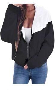 Damen Hoodie Jacke Sport Fitness Grn XL sehr leicht