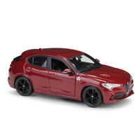 BBURAGO 1:24 Scale Alfa Romeo Stelvio Red Diecast Model Car Toys Model Genuine