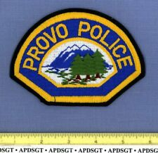 PROVO UTAH Sheriff Police Patch MOUNTAINS FE