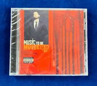 Emnem - Music To Be Murdered By (2020, Interscope, CD) Explicit New Sealed