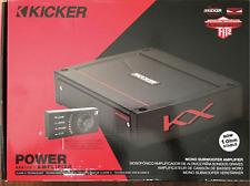 Kicker KX Mono Subwoofer Amplifier