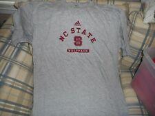 NC State Wolfpack gray crewshirt sz L  - DSCN1837
