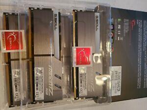G.SKILL TridentZ RGB Series 64GB (4 x 16GB) DDR4 2400MHz F4-2400C15Q-64GTZR