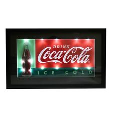 """CocaCola """"Ice Cold"""" 3D Led Lighted Sign"""