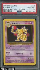 2002 Pokemon Legendary Collection #49 Kadabra PSA 10 GEM MINT