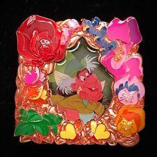 LE 500 Mad Hatter Alice In Wonderland Flower Frame Disney Store Park Pack Pin DS