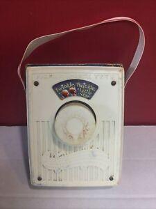 Vintage Fisher Price Musical Box Twinkle Twinkle Little Star Pocket Radio Works