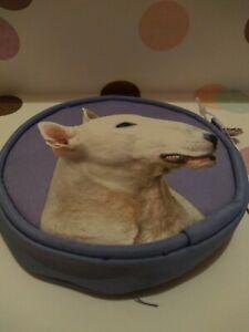 English bull terrier lilac Coin Purse