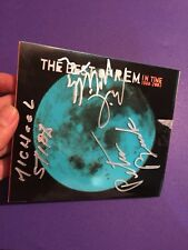 r.e.m cd record COA included SIGNED BY ALL BAND MEMBERS