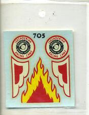 vtg original monte decal water slide model kit Isky Iskenderian cams drag flames