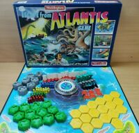 Vintage Escape From Atlantis Board Game 1986 Waddingtons 100% Complete RARE VGC