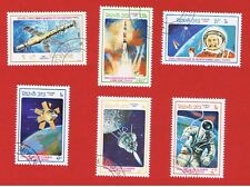 Laos #699-704 VF used  Space Free S/H