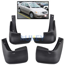 FIT FOR TOYOTA COROLLA 02-08 FLEXIBLE MUD FLAP FLAPS SPLASH GUARD 2003 2004 2005