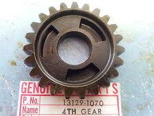Kawasaki KX125 A 1974-1979 4th Drive Gear Output 13129-1070 NOS
