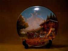 Christian Luckel Idyllic Village Life Plate-Stop at Village Inn-Seltmann-Germany