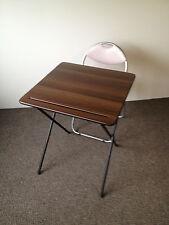 Plegable examen clase de habitación la cena de comedor Camping Laptop estudio Bistro Mesa Y Silla