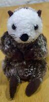 """K&M International SOFT OTTER 7"""" Plush Stuffed Animal"""