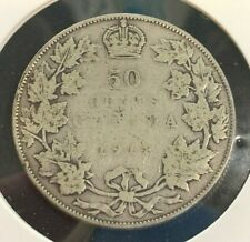 1914 Canadian 50 Cent Coin (C#3083)