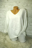 Italy Sweatshirt Shirt weiß 3D Print Norderney Vintage Gr.36 38 40 42 blogger